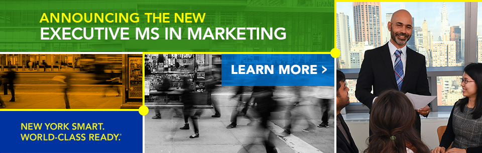 The new Executive MS in Marketing (EMSM) program